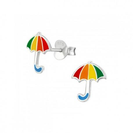Cercei din argint 925 pentru copii, model Umbrella