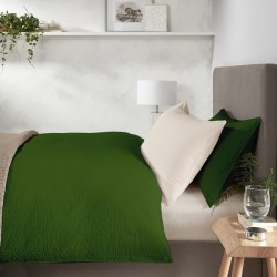 Lenjerie Pat Bumbac Creponat Verde&Vanilla
