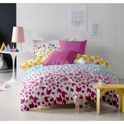 Lenjerie de pat bumbac Loving Matisse v1 Rosebloom