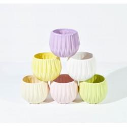 Vaza colorata set 6 buc