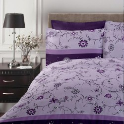 Lenjerie de pat Single Purple