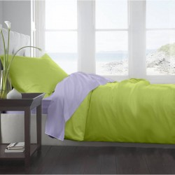 Lenjerie de pat Single Lime&Lila