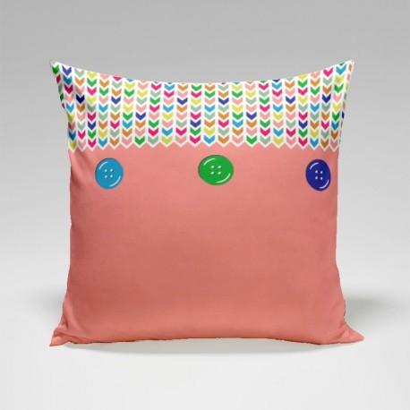 Fata Perna decor Pink 40x40