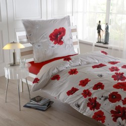 Lenjerie de pat bumbac single Poppy