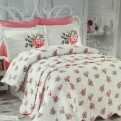 SET Cuvertura & Lenjerie de pat Paris Spring Pink