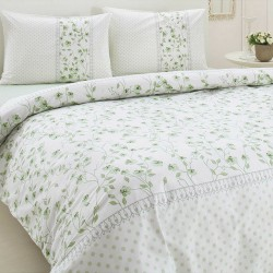 Special Offer, Lenjerie de pat bumbac Odele Verde, 3 PIESE