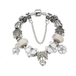 Brățară Charm tip Pandora 12 charm-uri