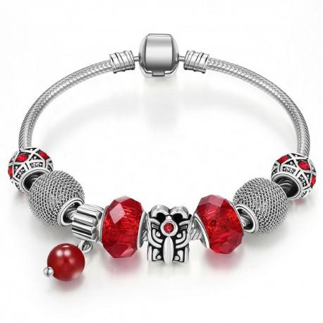 Brățară Charm tip Pandora 8 charm-uri