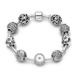 Brățară Charm tip Pandora 9 charm-uri