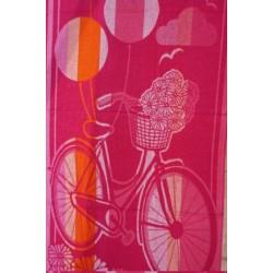 Prosop Plaja Pink Bike