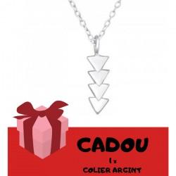 CADOU Comenzi de minim 550 lei, Colier Argint 925. Cadourile nu se cumuleaza, primesti 1 Cadou x valoarea cosului.