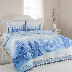 Lenjerie de pat finet Blue Winter