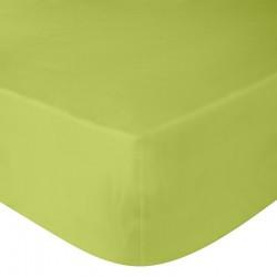 Cearsaf verde lime cu elastic