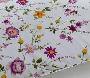 Imprimeu Lenjerie Pink Gardenia
